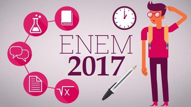 Inscritos no Enem 2017 ja podem conferir o local das provas; Exame será realizado dias 5 e 12 de Novembro