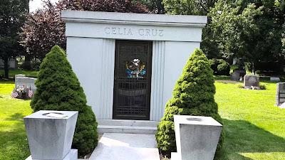 Tumba de Celia Cruz