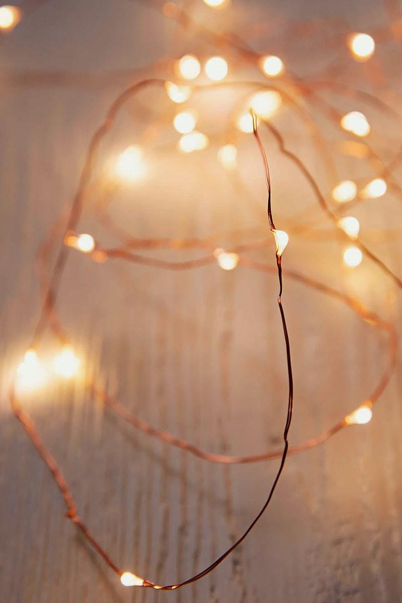 ideas para decorar con las luces de navidad