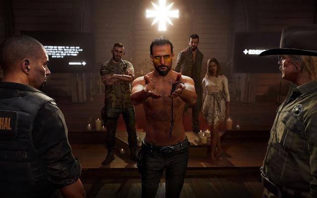 تسريب تفاصيل بالصور تشير لعودة شخصية Joseph Seed خلال الجزء القادم من سلسلة Far Cry ، شاهد من هنا ..