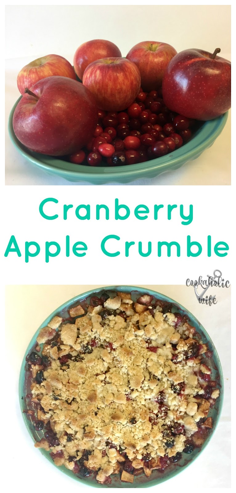 Cookaholic Wife: SRC: Apple Cranberry Crumble