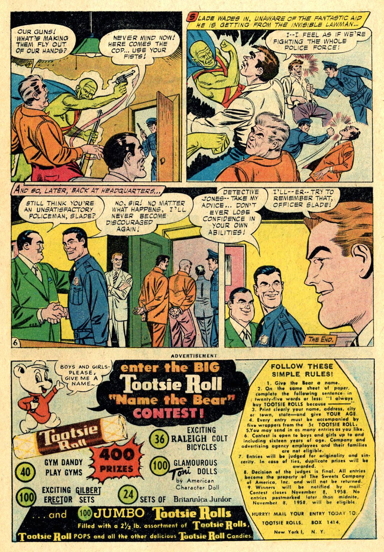 Read online Detective Comics (1937) comic -  Issue #260 - 32