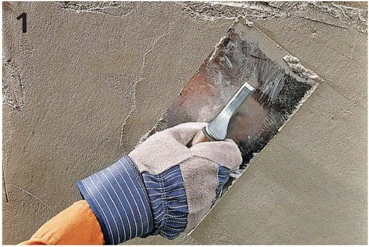 How To Skim Coat A Foundation Wall