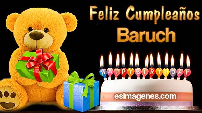 Feliz Cumpleaños Baruch