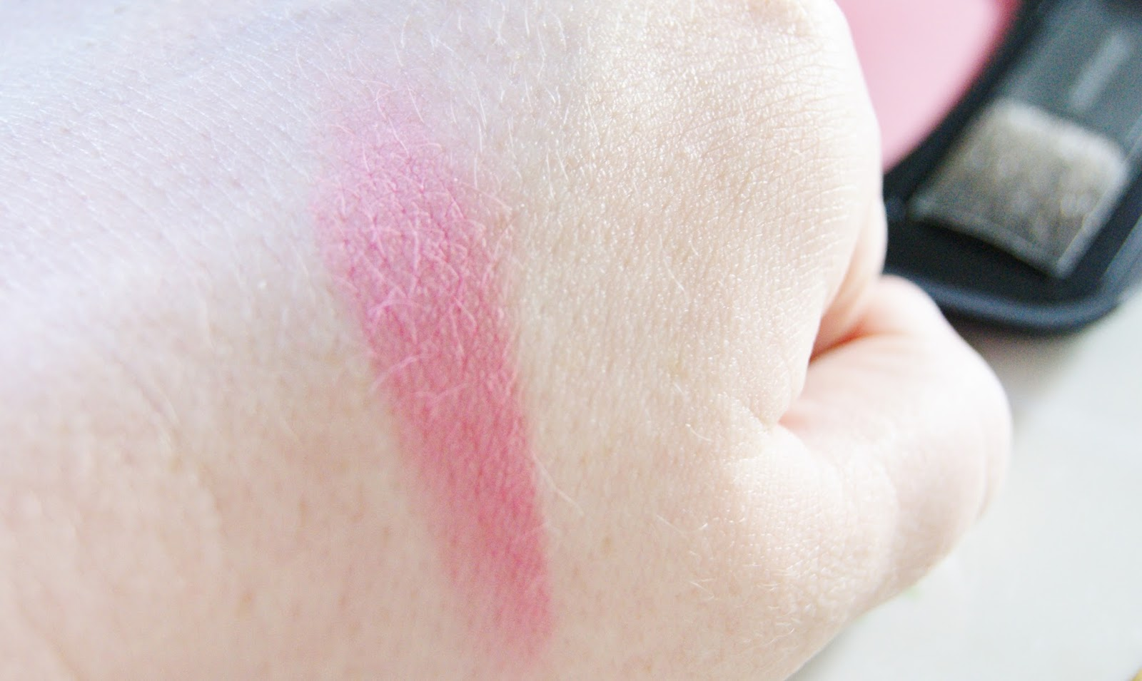 Bare Minerals READY Blush The Faux Pas Swatch