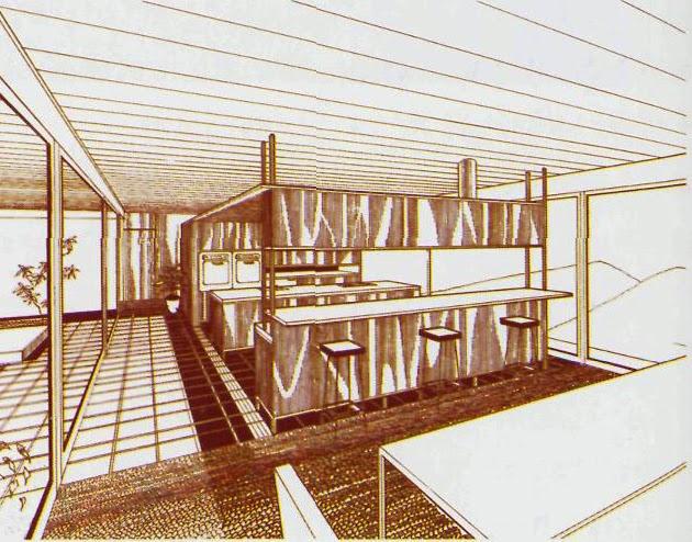 Stahl House. Case Study House #22. Pierre Koenig