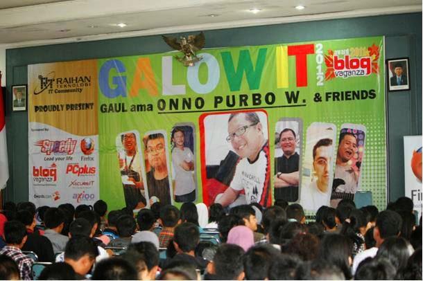 Berita Foto Pra GalowIT di SMK Karya Guna Jaya Bekasi