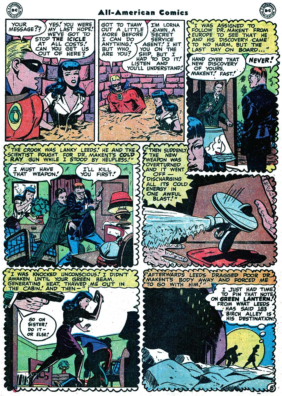Read online All-American Comics (1939) comic -  Issue #90 - 10