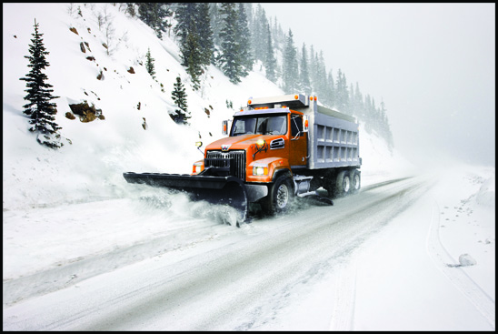 Western Star 4700 Snowplow