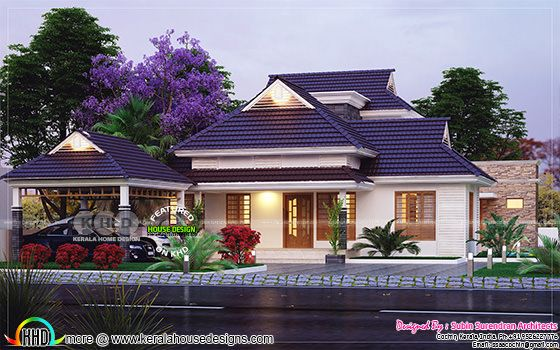Grand and elegant villa design