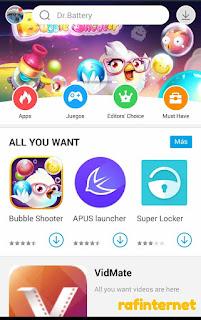 Mobogenie, aplikasi selain playstore