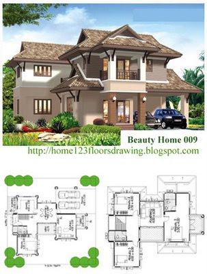 Beautiful dream home plans new interior design home design for Dream homes in michigan