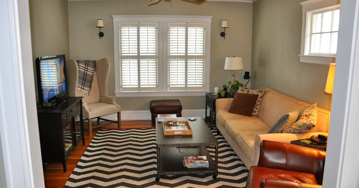 view from my heels client project living room refresh. Black Bedroom Furniture Sets. Home Design Ideas