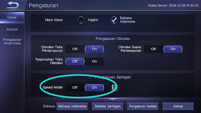 Here's how to keep the network stable when playing the latest 2021 mobile legend
