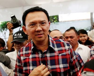 "Jakarta Governor Basuki Tjahaja Purnama, nicknamed ""Ahok"""