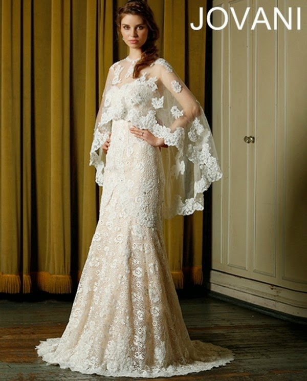 Latest Wedding Gowns 2014: Frock Style Western Dresses