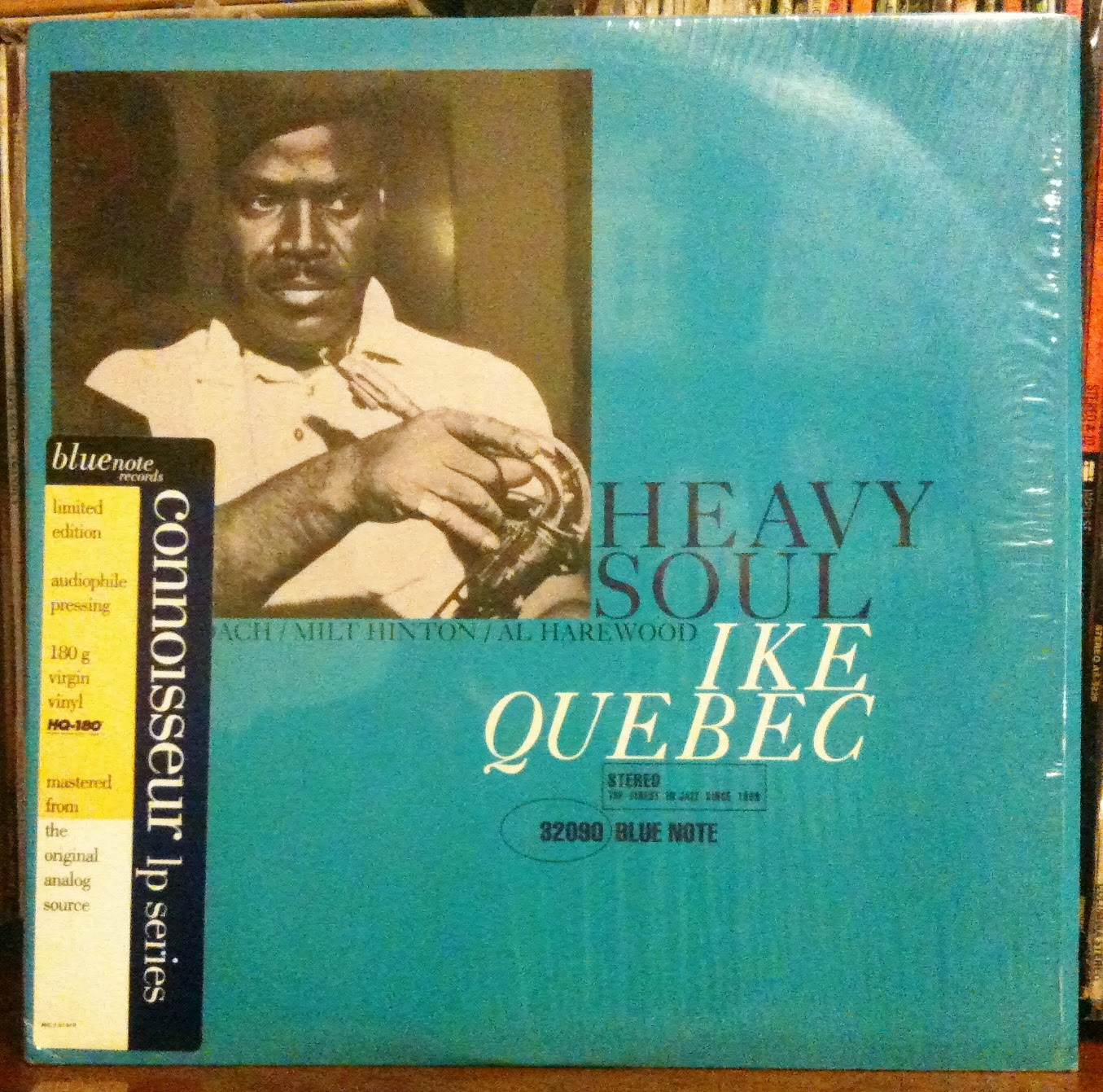 Ike Quebec Blue Note LP Heavy Soul