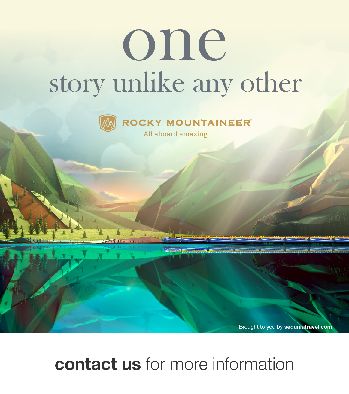 Rocky Mountaineer - Explore Canadian Wilderness Like Never