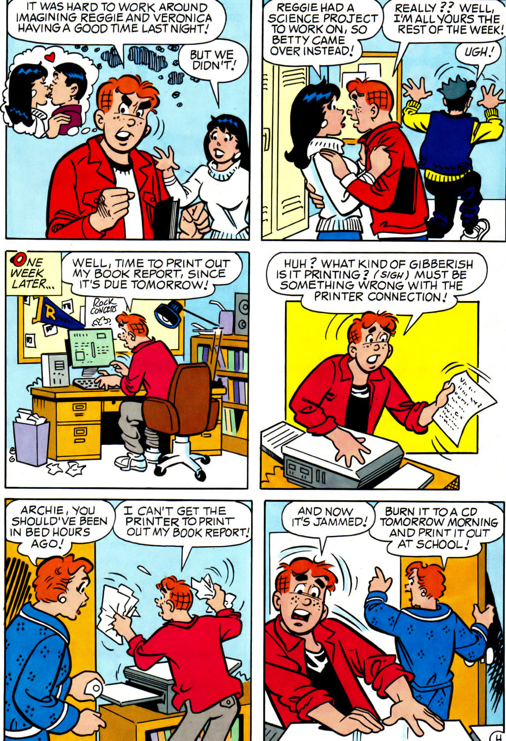 Read online Archie (1960) comic -  Issue #562 - 21