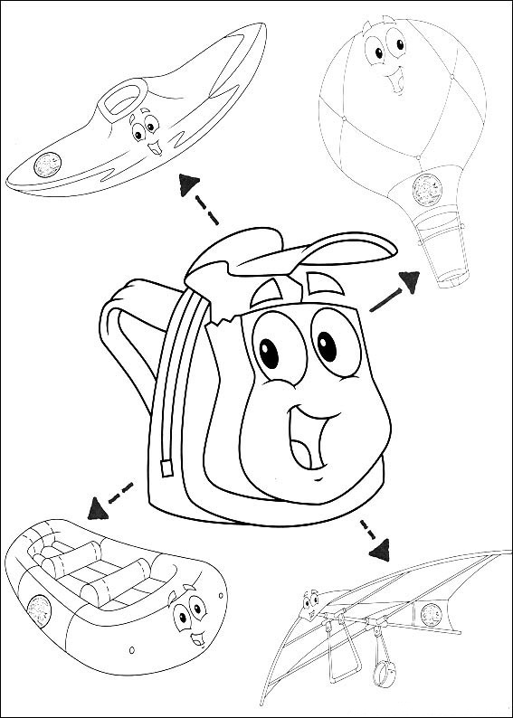 Fun Coloring Pages Go Diego