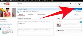 Youtube me video upload kaise kare 5