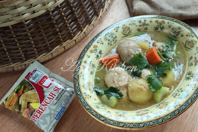 Sup Ayam Sedap Dan Mudah