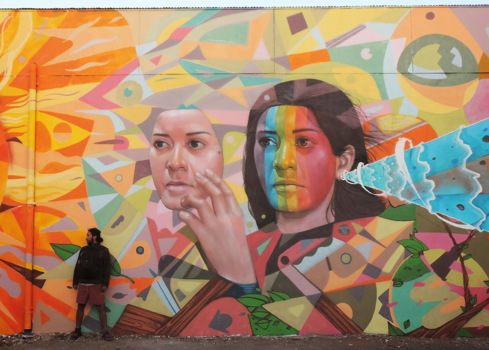 El Decertor was recently invited to paint for the festival Mixtyle which was held in the city of Temuco in Chile.