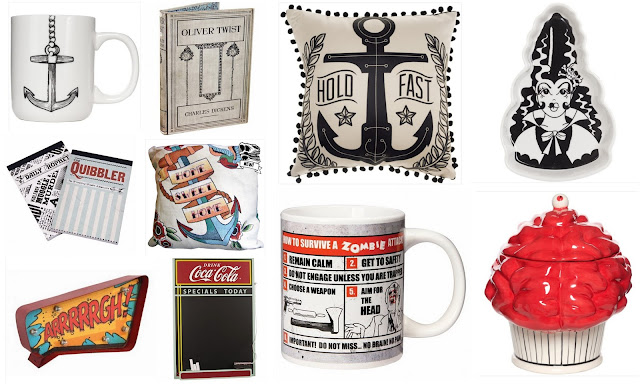 Tattoo + Halloween Homeware Wish List