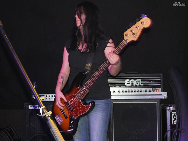 Ladies of Metal: Virginia Piras (Black Capricorn), Ladies of Metal, Virginia Piras, Black Capricorn