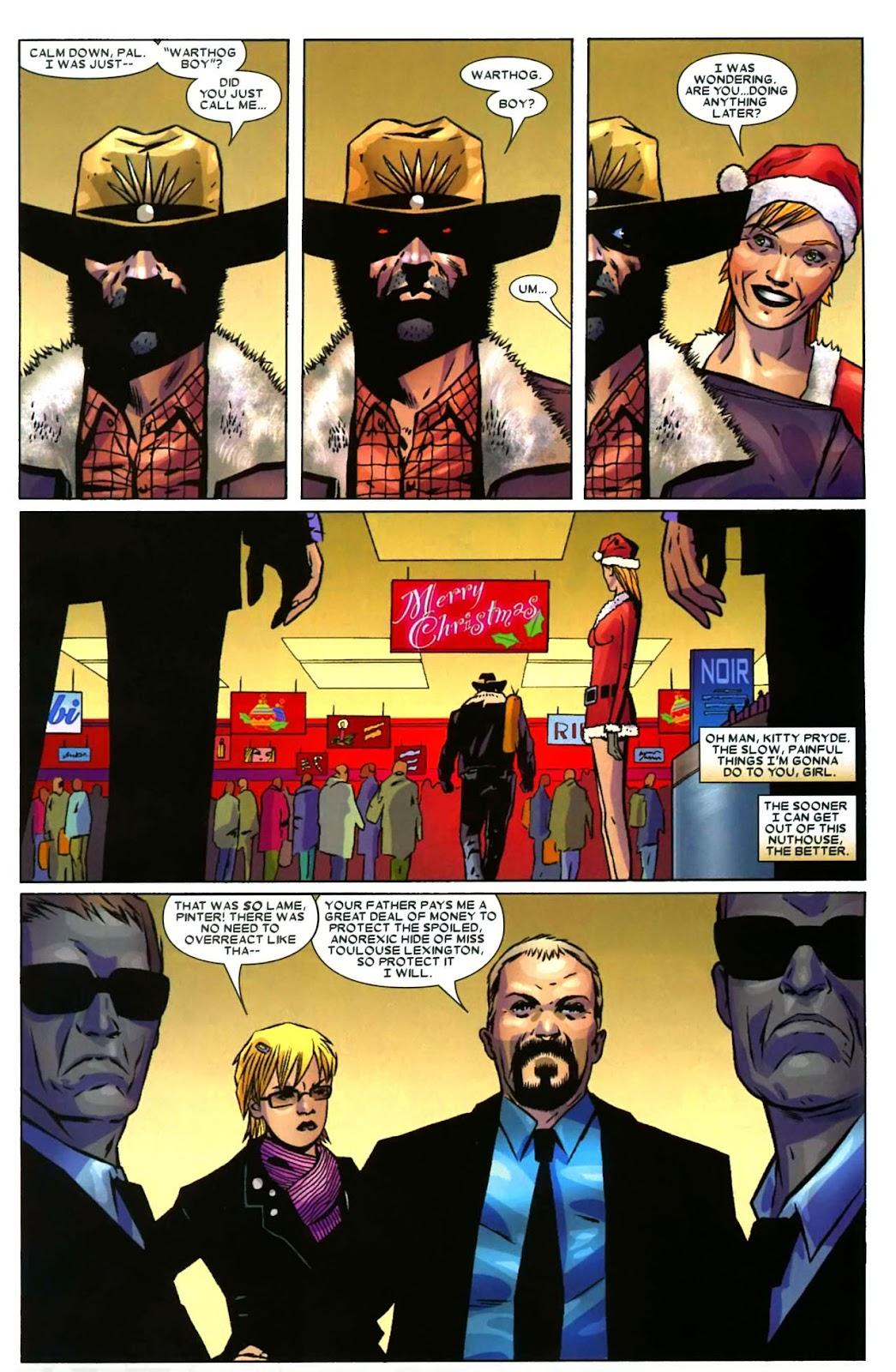 Read online Wolverine (2003) comic -  Issue #49 - 6