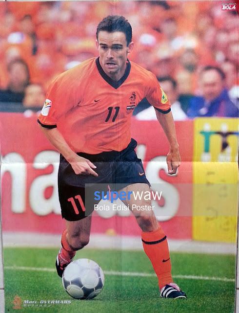 Poster Marc Overmars (Belanda)