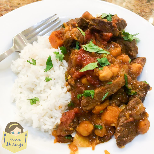 Beef and sweet potato moroccan tagine_menumusing.com