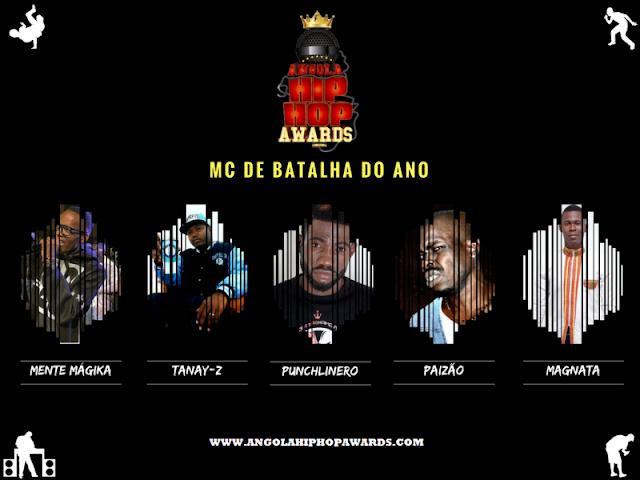 """Notícias: """"Angola Hip Hop Awards 2ª Edição"""" Divulga Nomeados De 2016 Para As Votações"""