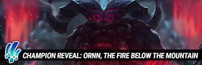 premium urval info för någonsin populär Surrender at 20: Champion Reveal: Ornn, the Fire Below the Mountain
