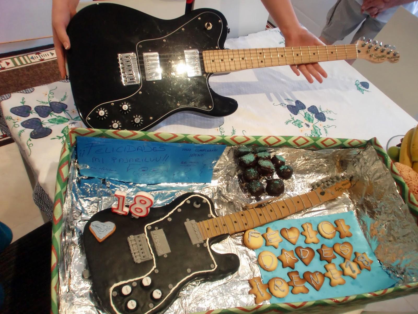 Las Tentaciones De Nelpi Tarta Guitarra Eléctrica