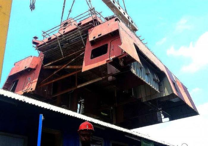 Kapal Perang Frigate PKR PT PAL