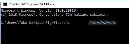 DNS Ön Belleği Nasıl Temizlenir?
