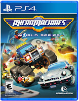 Micro Machines World Series Game Cover PS4