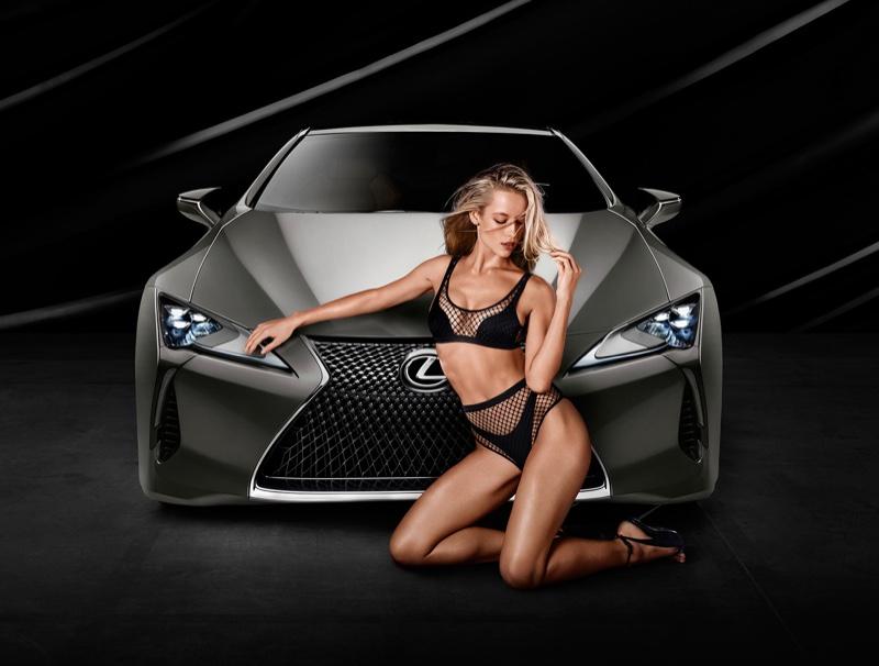 Hannah Ferguson – Lexus LC 500 Campaign