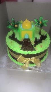 cake gambar mesjid