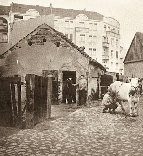 Wilmersdorf as farms gave way to apartment blocks, circa 1900? (Berlin.de website)