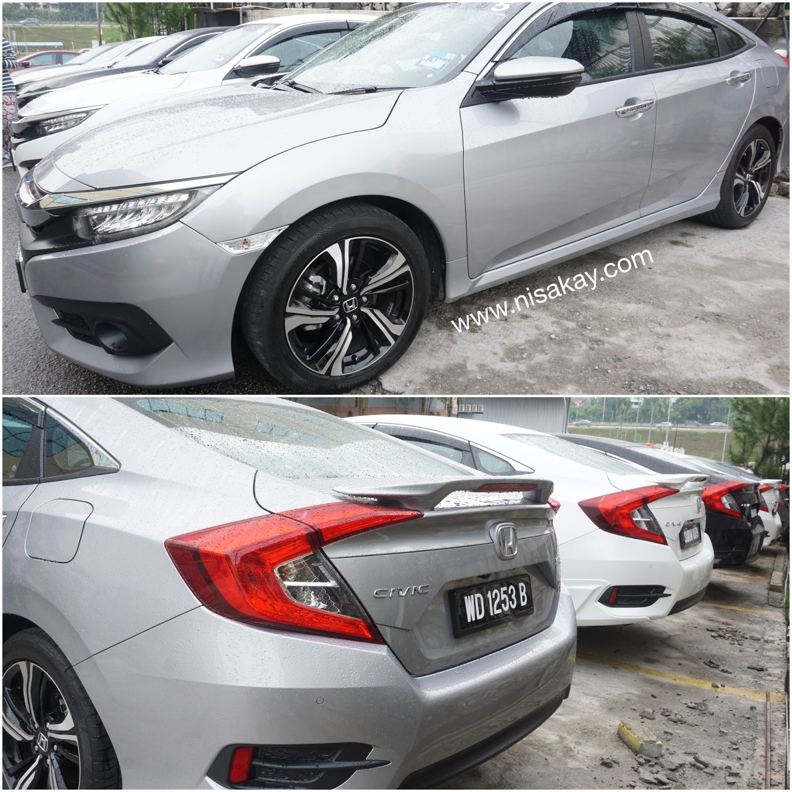 Honda All-New Civic yang Sporty dan Sleek ! ADUH JATUH CINTA