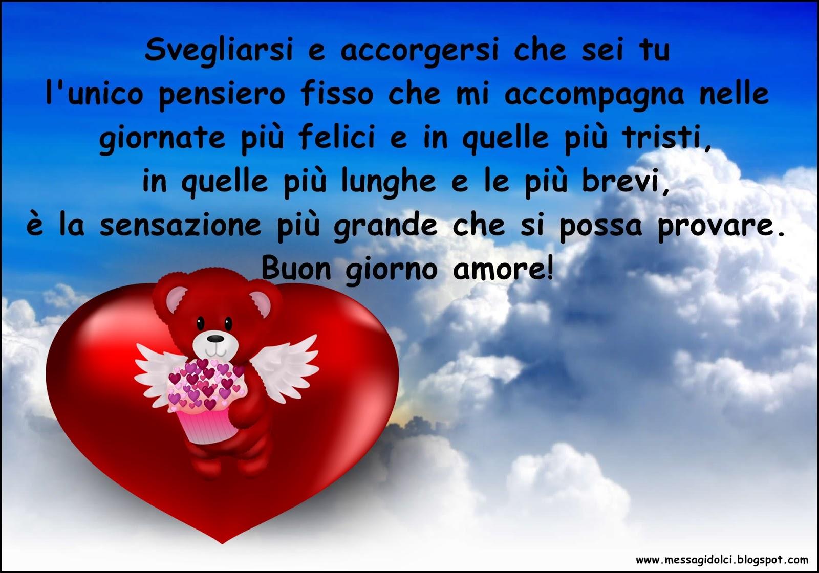 Immagini romantiche di buongiorno for Buongiorno divertente sms