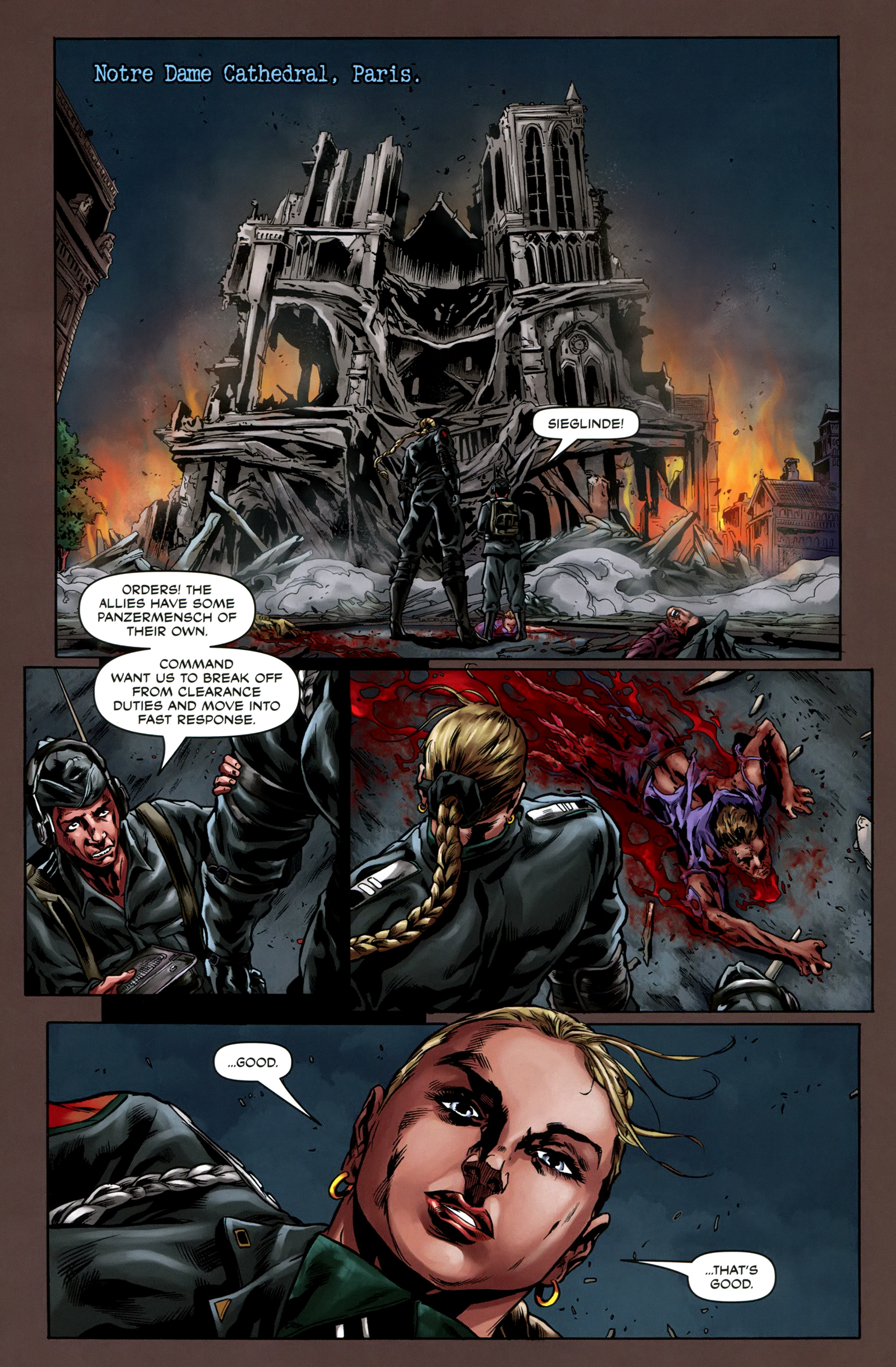 Read online Uber comic -  Issue #5 - 14