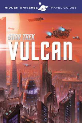Bea's Book Nook, Review, Hidden Universe Travel Guide: Star Trek: Vulcan, Dayton Ward