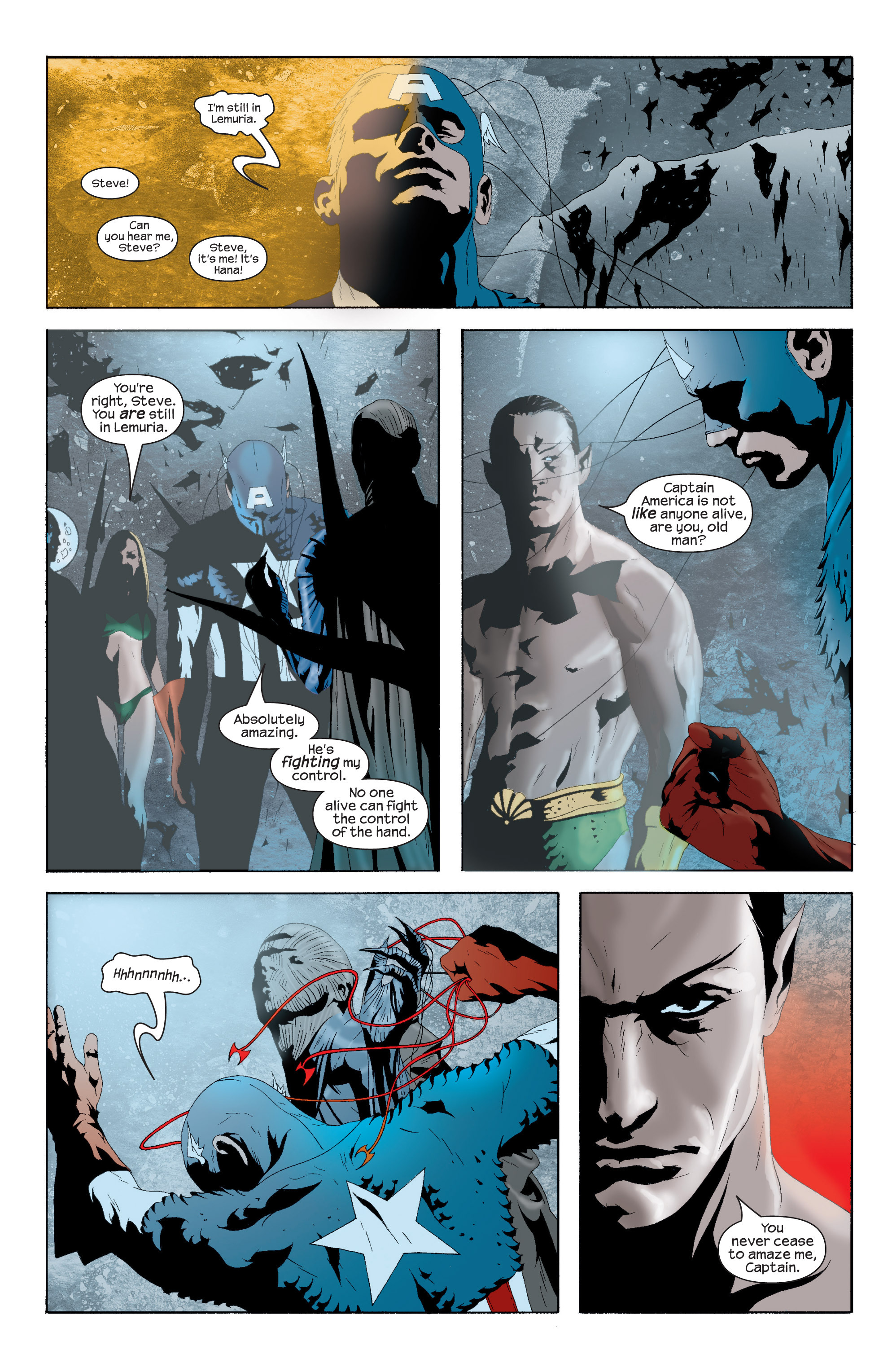 Captain America (2002) Issue #16 #17 - English 21