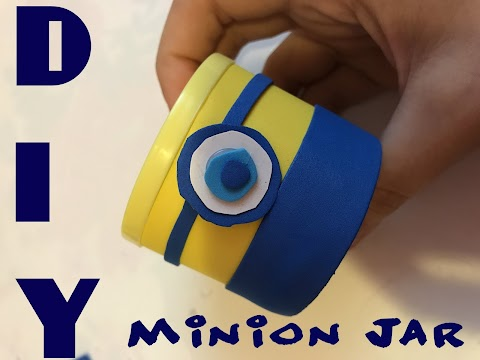 DIY How to Make a Minion Jar!