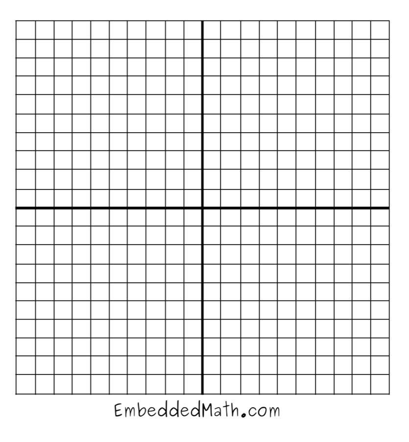 School Tools 4 U Graph Paper For Coordinates