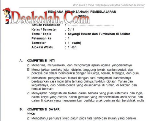 Download Silabus Dan Rpp Kelas 3 Sd Kurikulum Pictures