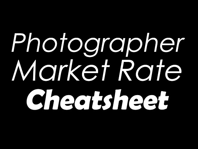 Market Rate for Photographers in Singapore!